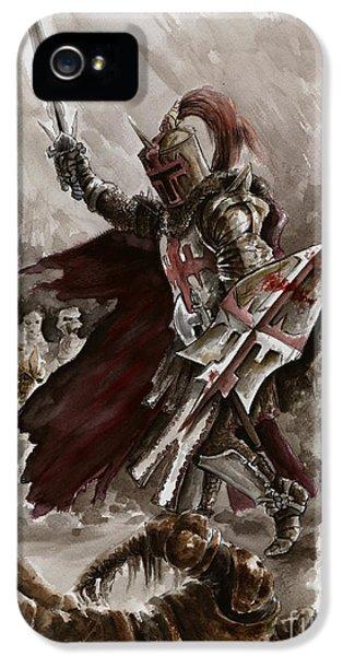 Dark Crusader IPhone 5s Case by Mariusz Szmerdt
