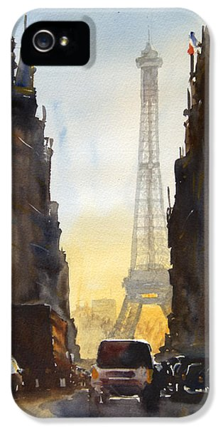 Dawn In Paris IPhone 5s Case by James Nyika