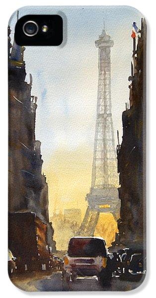 Dawn In Paris IPhone 5s Case