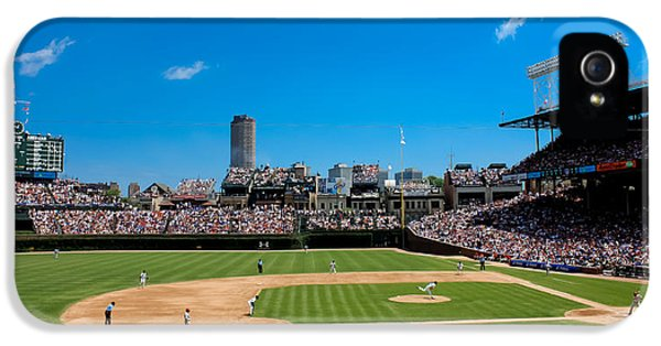 Day Game At Wrigley Field IPhone 5s Case by Anthony Doudt