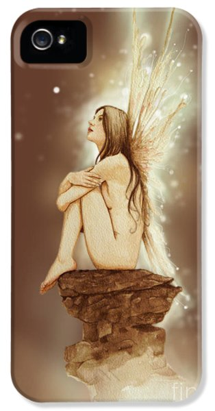 Fantasy iPhone 5s Case - Daydreaming Faerie by John Silver