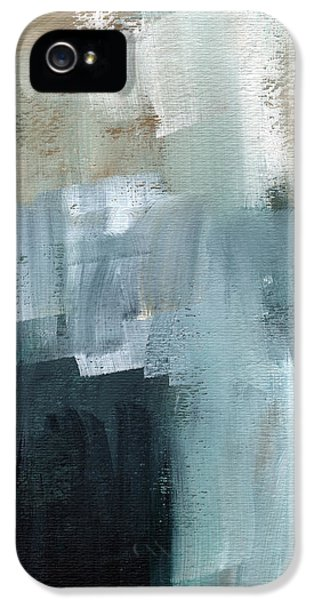 Santa Monica iPhone 5s Case - Days Like This - Abstract Painting by Linda Woods