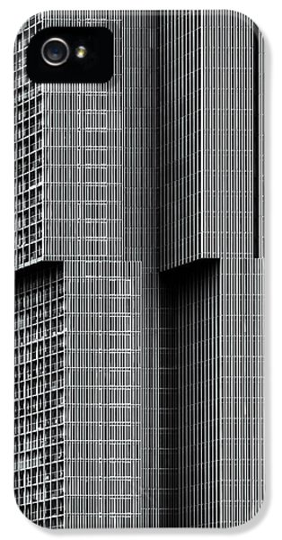 Facade iPhone 5s Case - De Rotterdam by Theo Huybrechts
