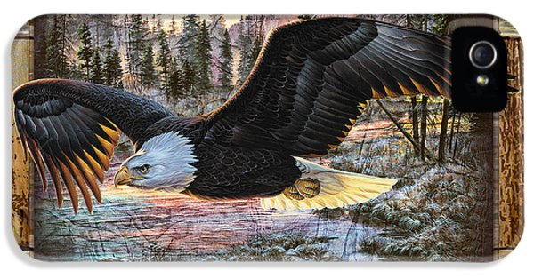 Eagle iPhone 5s Case - Deco Eagle by JQ Licensing