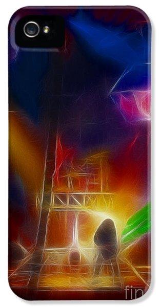 Def Leppard-adrenalize-gf10-fractal IPhone 5s Case