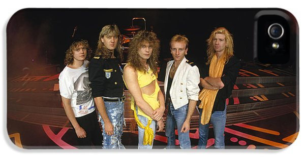Def Leppard - Round Stage 1987 IPhone 5s Case by Epic Rights