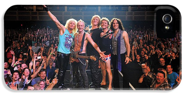 Def Leppard - Viva! Hysteria At The Hard Rock 2013 IPhone 5s Case by Epic Rights