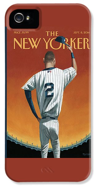 Derek Jeter Bows IPhone 5s Case
