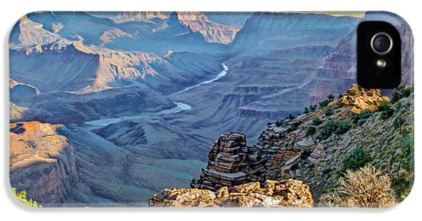 Desert View-morning IPhone 5s Case by Paul Krapf