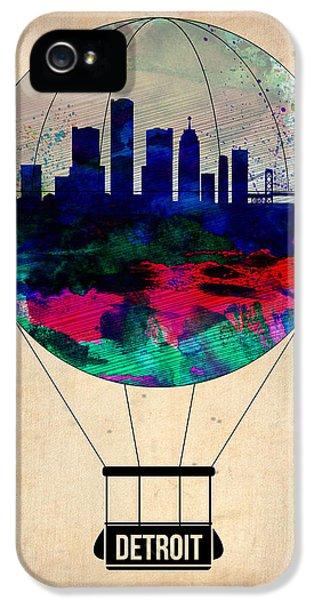 Detroit Air Balloon IPhone 5s Case