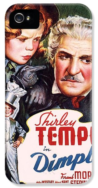 Shirley Temple iPhone 5s Case - Dimples by Movie Poster Prints