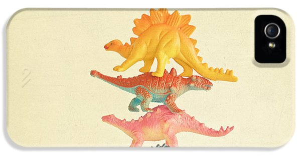 Dinosaur Antics IPhone 5s Case by Cassia Beck