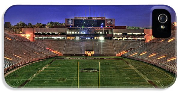 Florida State iPhone 5s Case - Doak Campbell Stadium by Alex Owen