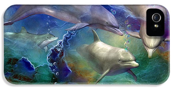 Dolphin Dream IPhone 5s Case