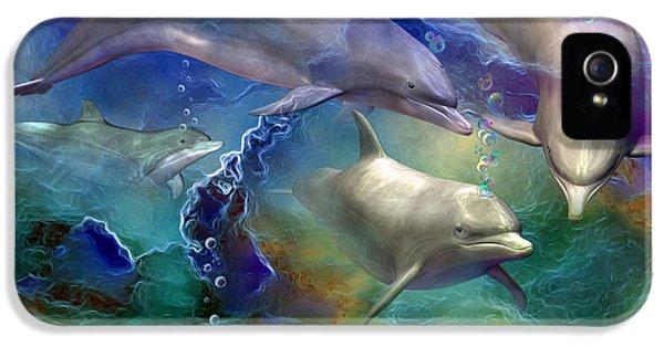 Dolphin Dream IPhone 5s Case by Carol Cavalaris