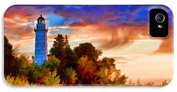 Door County Cana Island Wisp IPhone 5s Case by Christopher Arndt
