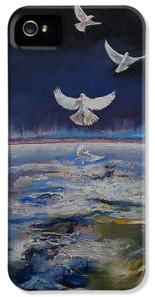 Doves IPhone 5s Case by Michael Creese