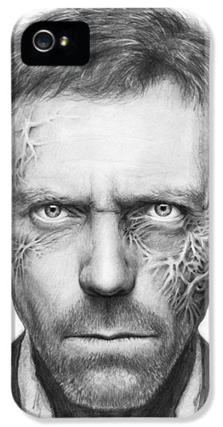 Dr. Gregory House - House Md IPhone 5s Case by Olga Shvartsur