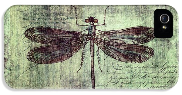 Dragonfly IPhone 5s Case by Priska Wettstein