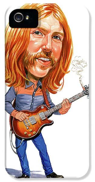 Music iPhone 5s Case - Duane Allman by Art