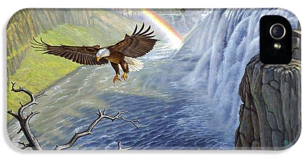 Eagle iPhone 5s Case - Eagle-mesa Falls by Paul Krapf