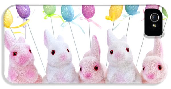 Easter Bunny Toys IPhone 5s Case by Elena Elisseeva