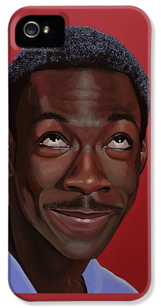 Eddie Murphy Painting IPhone 5s Case by Paul Meijering
