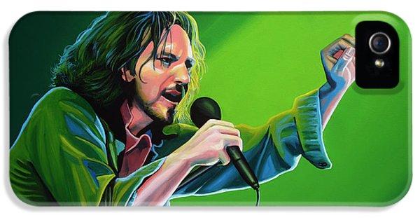 Eddie Vedder Of Pearl Jam IPhone 5s Case