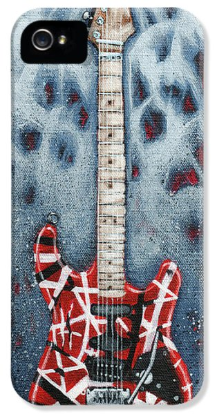 Eddie's Frankenstrat IPhone 5s Case by Arturo Vilmenay