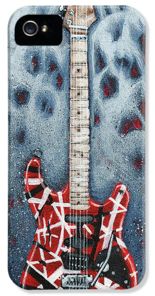 Eddie's Frankenstrat IPhone 5s Case