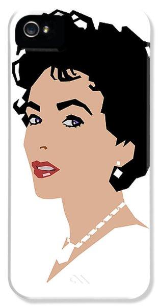 Elizabeth IPhone 5s Case by Douglas Simonson