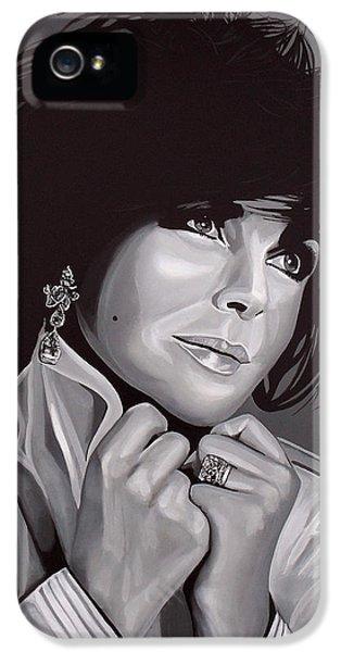 Elizabeth Taylor IPhone 5s Case by Paul Meijering