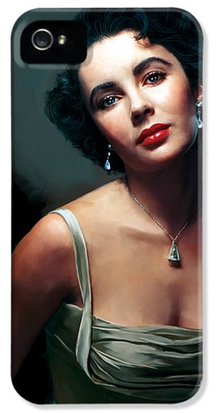 Elizabeth Taylor IPhone 5s Case