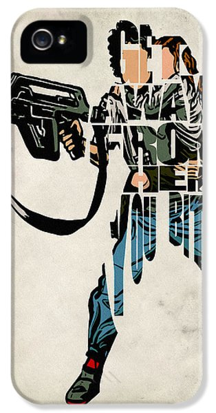 Ellen Ripley From Alien IPhone 5s Case by Ayse Deniz