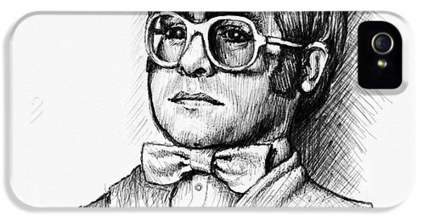 Elton  IPhone 5s Case by Cristophers Dream Artistry