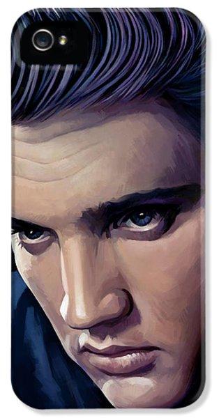 Elvis Presley Artwork 2 IPhone 5s Case