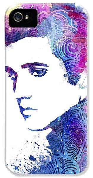 Elvis Presley IPhone 5s Case by Luke and Slavi