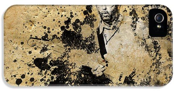Eric Clapton iPhone 5s Case - Eric Clapton 3 by Bekim Art
