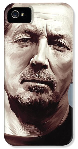 Eric Clapton Artwork IPhone 5s Case by Sheraz A