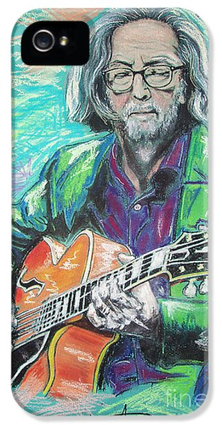 Eric Clapton IPhone 5s Case by Melanie D