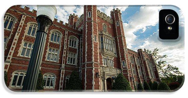 Evans Hall In The Evening IPhone 5s Case by Nathan Hillis