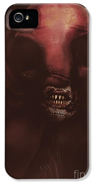 Minotaur iPhone 5s Case - Evil Greek Mythology Minotaur by Jorgo Photography - Wall Art Gallery