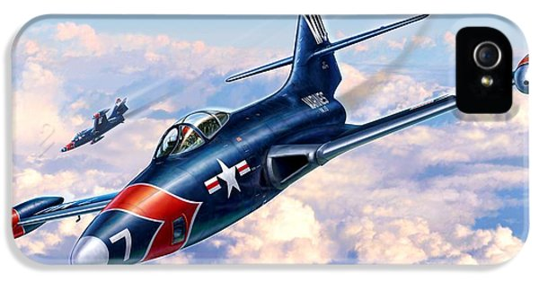 F9f-5p Photo Panthers IPhone 5s Case by Stu Shepherd