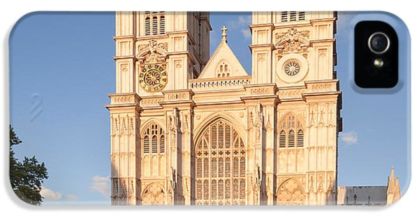 Westminster Abbey iPhone 5s Case - Facade Of A Cathedral, Westminster by Panoramic Images