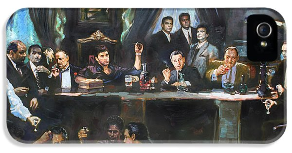 Sonny iPhone 5s Case - Fallen Last Supper Bad Guys by Ylli Haruni