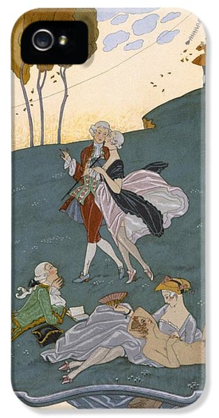 Fetes Galantes IPhone 5s Case by Georges Barbier