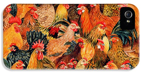 Rooster iPhone 5s Case - Fine Fowl by Ditz