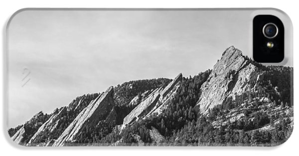Flatirons B W IPhone 5s Case by Aaron Spong