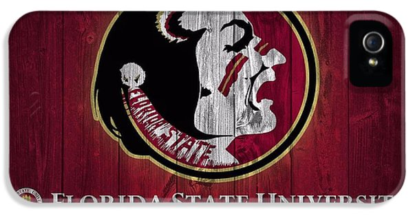 Florida State iPhone 5s Case - Florida State University Barn Door by Dan Sproul
