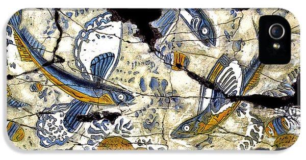 Bogdanoff iPhone 5s Case - Flying Fish No. 3 by Steve Bogdanoff